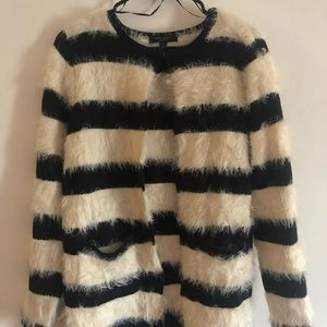 Romeo and Juliet couture fuzzy sweater